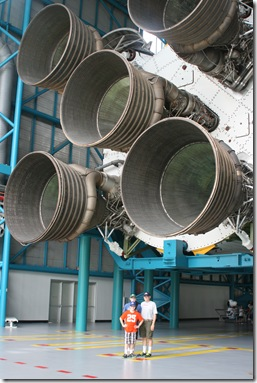 Engines on the Saturn V