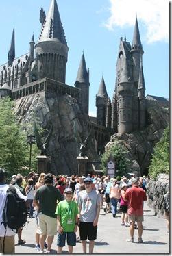 The boys at Hogwarts
