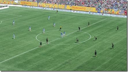 Uruguay (blue) vs. Mexico (black)