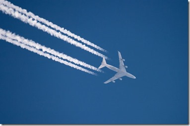 Chem- I mean contrails