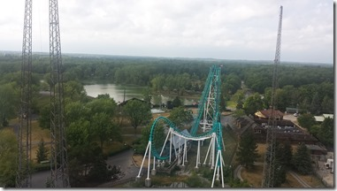 Boomerang from the top of the ferris wheel