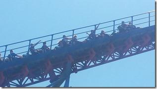 Nicky on Ride of Steel